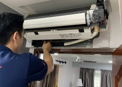 Normal Service Indoor Fancoil Include Cleaning Of Blower And Dry Cleaning Outdoor Compressor In Ang Mo Kio